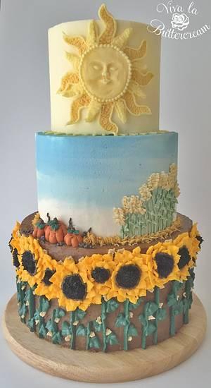 Harvest - Cake by vivalabuttercream
