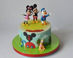 Mickey Mouse Clubhouse - Cake by Jolana Brychova