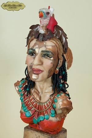Egypt Land of Mystery Collaboration - MUT METAMORPHOSIS   - Cake by Adelina Baicu Cake Artist