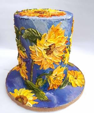 Sunflowers - Cake by Claudia Prati
