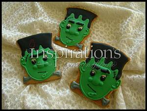 Inspiration's Spooky cookies - Cake by Inspiration by Carmen Urbano