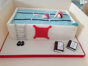 Anyone for a swim? - Cake by Hayleycakes1
