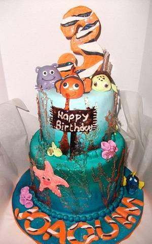 Finding Nemo cake - Cake by frostingbakery