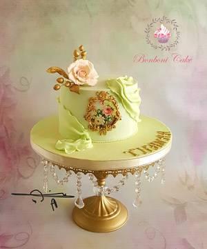 Elegant cake - Cake by mona ghobara/Bonboni Cake