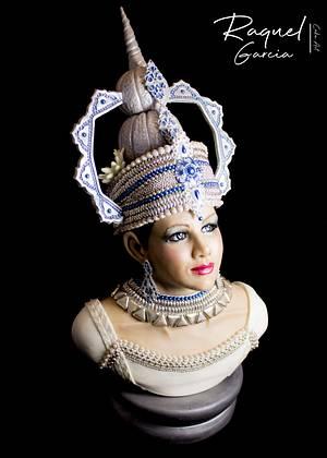 INDIRA ( Beautiful Sri Lanka Collaboration)  - Cake by Raquel García