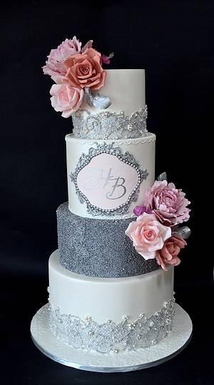 ..and they lived happily ever after.. - Cake by Delice