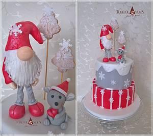 Christmas cake - Cake by Tortolandia