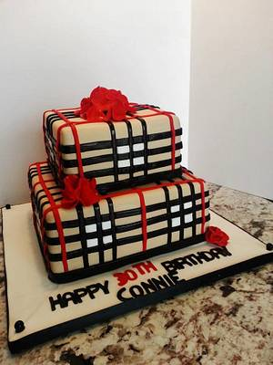 BURBERRY CAKE - Cake by Enza - Sweet-E