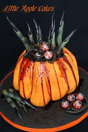Hansel and Gretel's Halloween Revenge ~ Cake - Cake by Little Apple Cakes