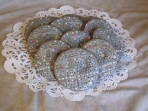 Star Wars Death Star Cookies - Cake by Tiffany Palmer