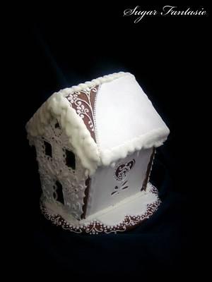My gingerbread hause - Cake by Ildikó Dudek