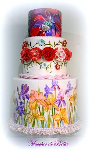 Iris - Cake by Mucchio di Bella