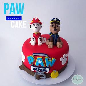 Torta Patrulla Canina - Paw Patrol Cake - Cake by Dulcepastel.com