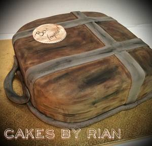 Vintage Luggage Cake - Cake by Cakes By Rian