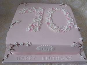 Cherry blossom cake. - Cake by Karen's Cakes And Bakes.