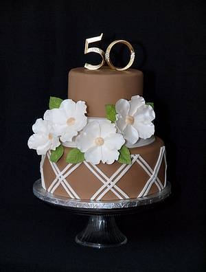 50 years and counting! - Cake by StuckOnTheFarm