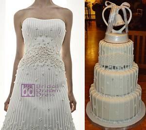 Matthew Christopher's IMAGINE Wedding Dress Cake - Cake by Kristen