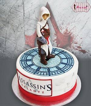 Assassins Creed cake - Cake by Auxai Tartas