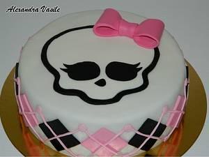 Monster High cake - Cake by alexandravasile