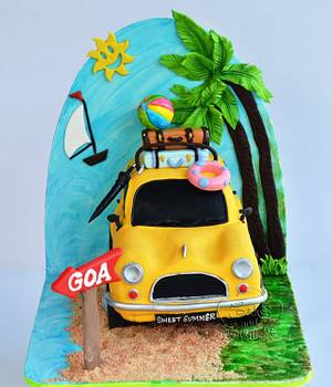 Sweet summer car cake  - Cake by Hima bindu