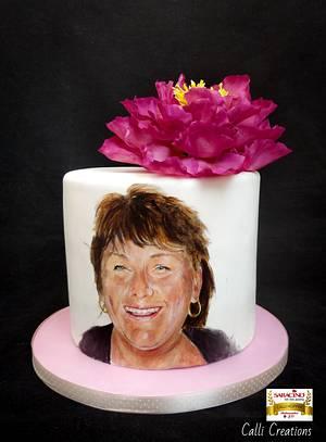 60th Birthday - Cake by Calli Creations