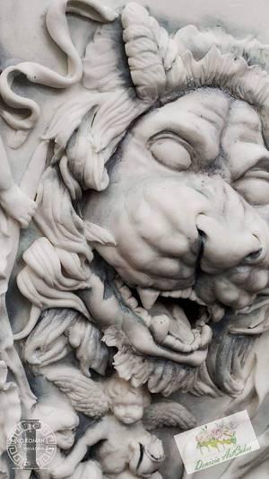Dancing Maenads Greco Roman Statues Challenge - Cake by Denisia Savin