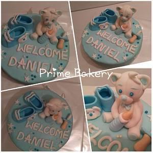 Baby boy cake - Cake by Prime Bakery