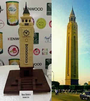 The Clock Tower - Cake by mona ghobara/Bonboni Cake
