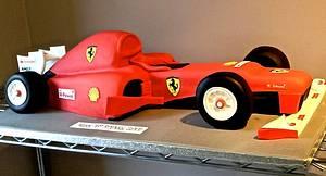 The Ferrari - Cake by Symphony in Sugar