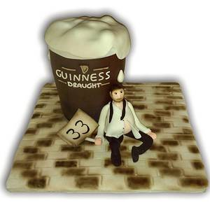 beer guiness - Cake by nef_cake_deco