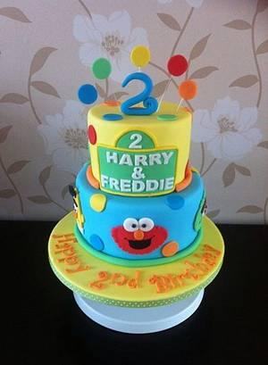 Sesame Street - Cake by Carrie