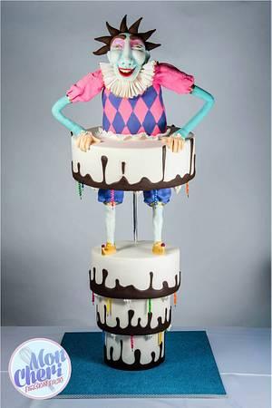 Upside down cake - Cake by Mon Cheri Cakes