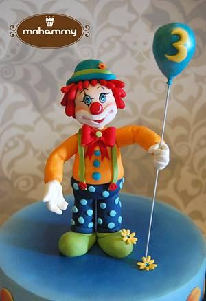 Cute Clown - Cake by Mnhammy by Sofia Salvador