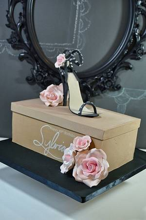 Sexy High Heeled Shoe Cake - Cake by Jenniffer White