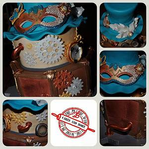 SteamPunk meets Carnival - Cake by BT Cakes & more