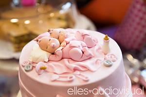 Christening cake - Cake by Pelegrina