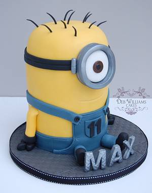 These minions are everywhere! - Cake by Deb Williams Cakes