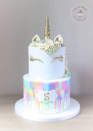 Unicorn cake  - Cake by Sara's House of Cupcakes