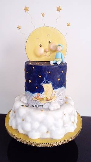 Children of the Stars cake - Cake by Miky1983