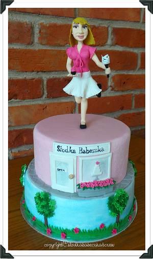 My own birthday cake - Cake by slodkababeczkatczew