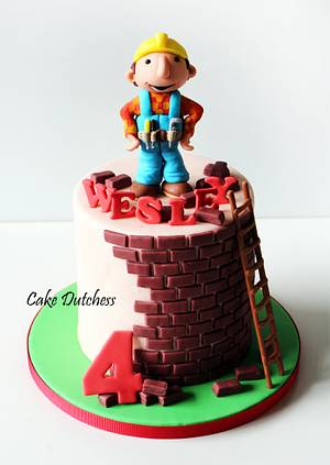 Bob the Builder - Icing Smiles Holland  - Cake by Etty