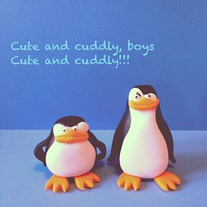 Penguins - Cake by Suzie Bear Cakes