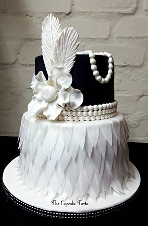 1920's - Cake by The Cupcake Tarts