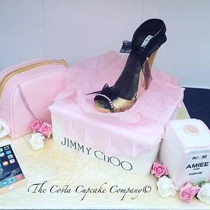 Jimmy choo shoes  - Cake by Costa Cupcake Company