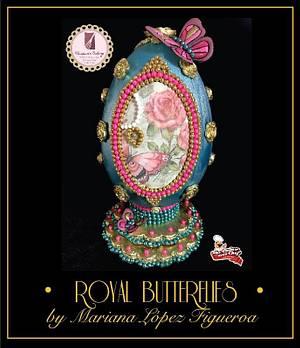 """""""Royal Butterflies 🦋 """"  - Cake by Mariana Lopez Figueroa"""