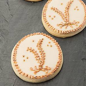 Mother's Day Gift Cookie with Pressure Piping Motifs - Cake by Bobbie