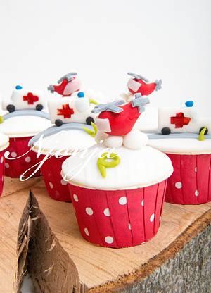 Doctor´s cupcakes.. - Cake by Njonja
