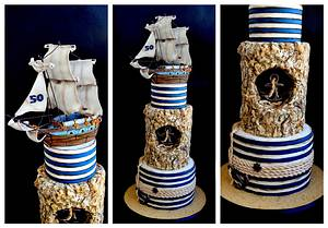 Nautical - Cake by Delice