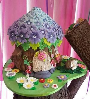 Fairy Cottage - Cake by ellepik