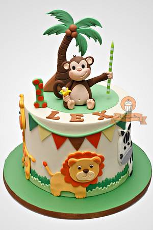 Jungle Safari Cake - Cake by The Sweetery - by Diana